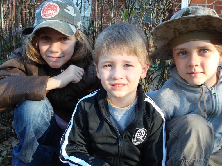 Joy, Ash & Sam
