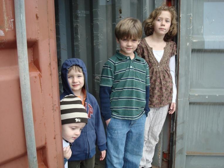 Asher, Tuck, Samuel & Joy