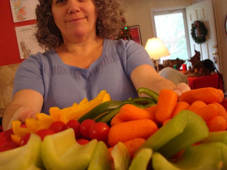 A Platter of Vegetable Fun