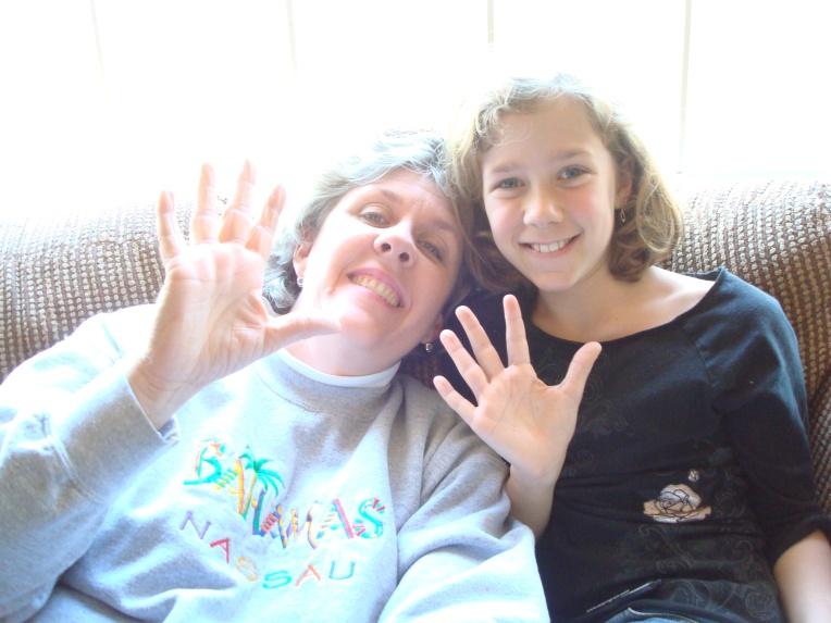 Joy & I trying out the Xshot