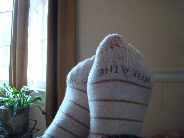 My Happy Breathe Socks