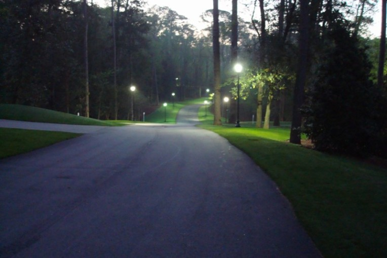 Early morning at the Masters