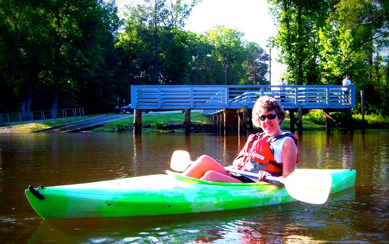 My kayaking adventure - as documented by my friend Sherrie