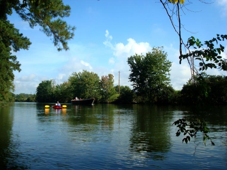 Augusta Canal - kayaking
