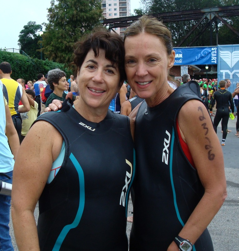 Diana & Liv - came here for the Ironman Triathlon.  They are friends from Bainbridge that I haven't seen in at least six years.