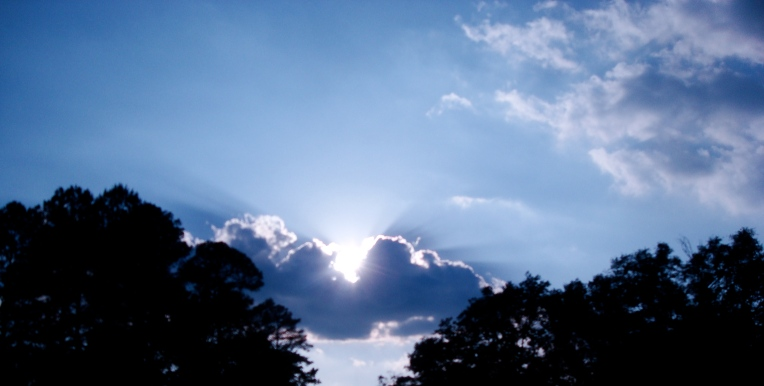 Clouds & afternoon sun