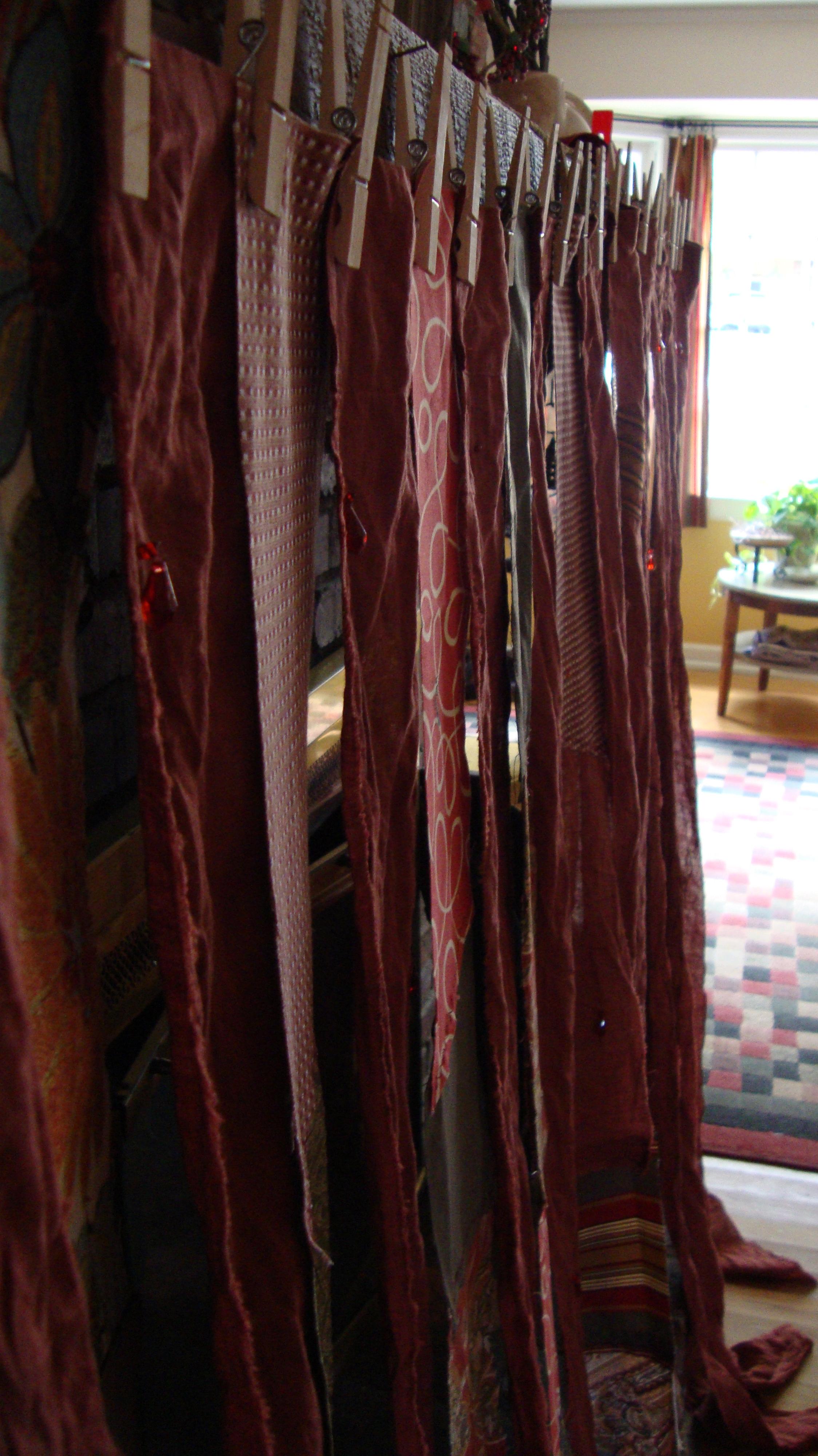 Fabric Strip Curtains - One