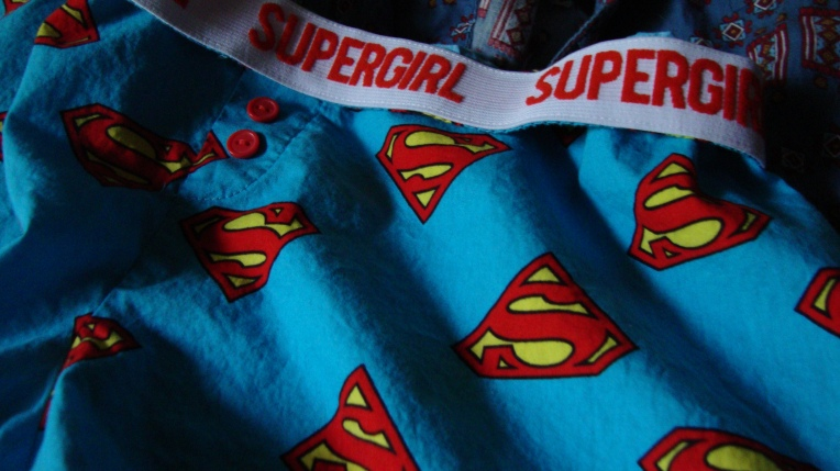 Supergirl pj boxers