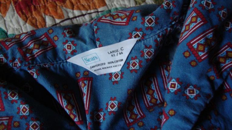 Sears Roebuck Men's Robe