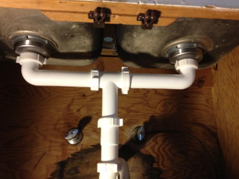 Fresh plumbing!