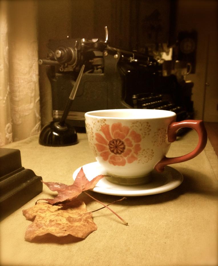 Morning Autumn Coffee