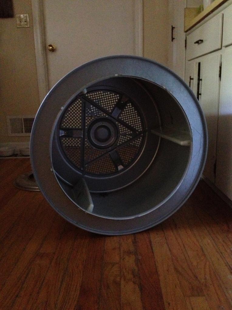 My dryer drum ... in my kitchen