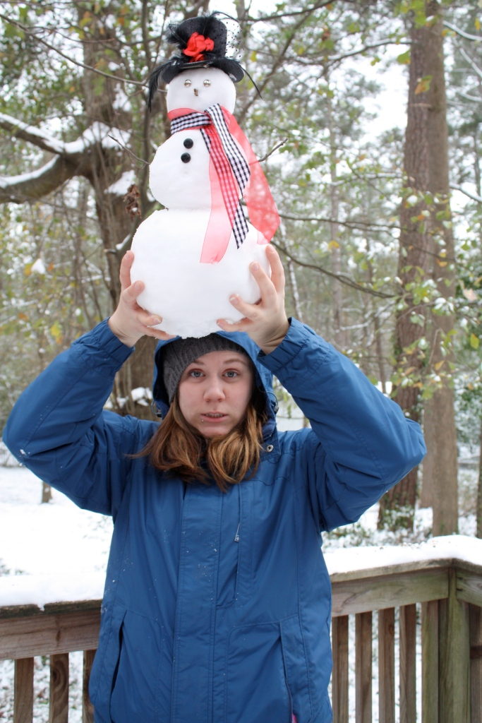 Glory's snowman