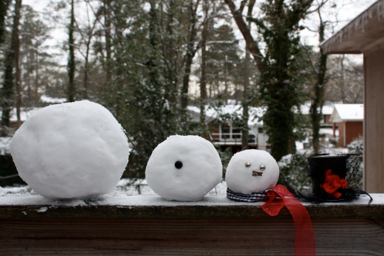 Oops. Snowball parts