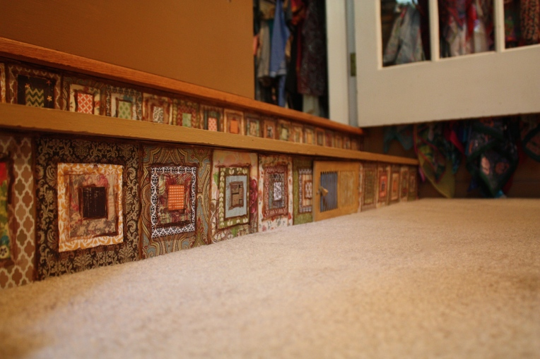 Paper Tiles on Stair Risers