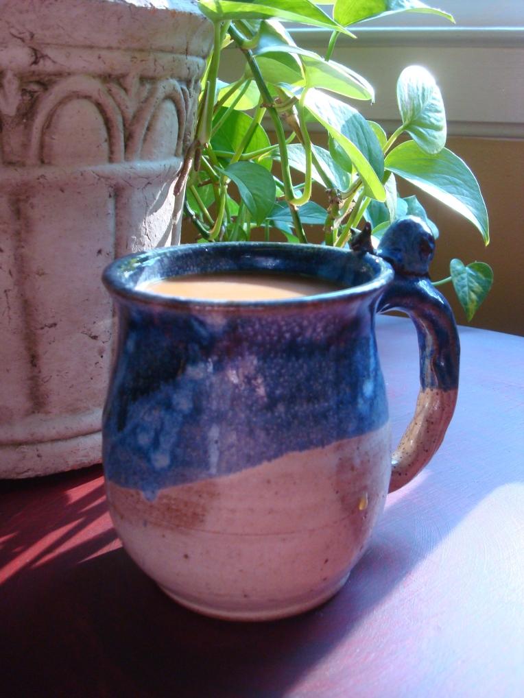Clay Snail Mug