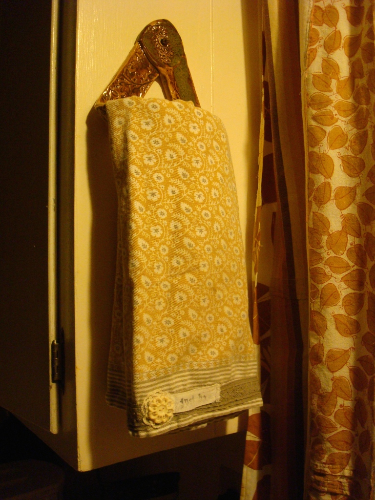 Hand sewn kitchen towel