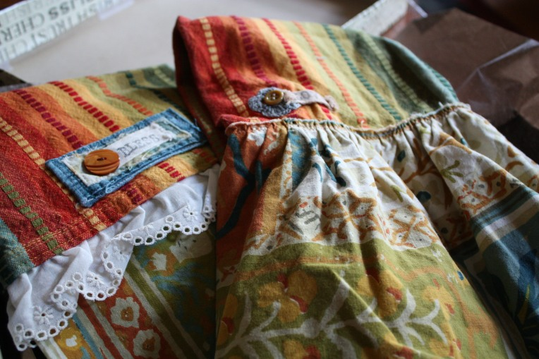 Hand sewn kitchen towels