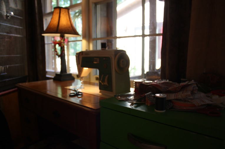 My sewing space ...