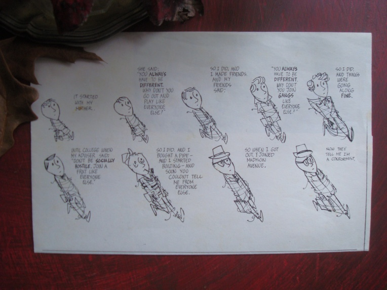 Click over to see clearer image - Jules Feiffer Comic