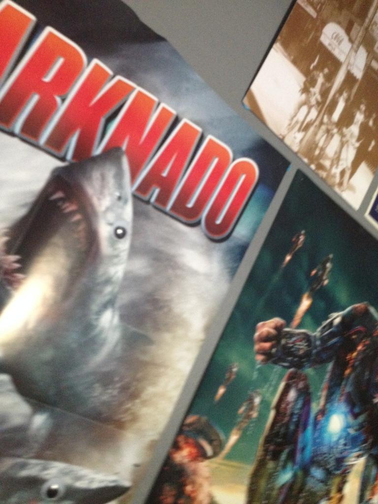 Sharknado & Robert Downey Jr