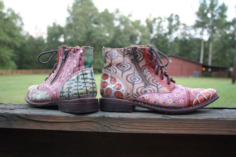 BedStu hand painted boots