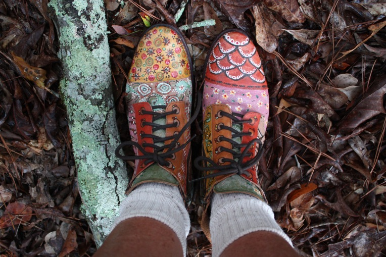 BedStu handpainted boots